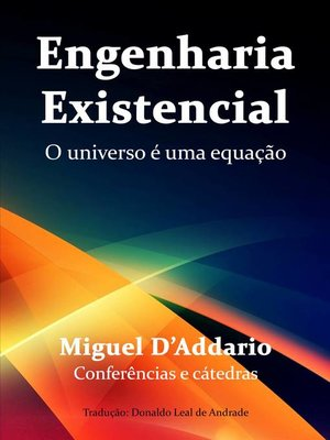 cover image of Engenharia Existencial