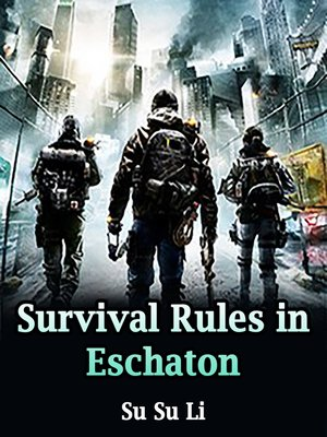cover image of Survival Rules in Eschaton