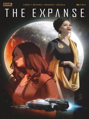 cover image of The Expanse, Issue 1