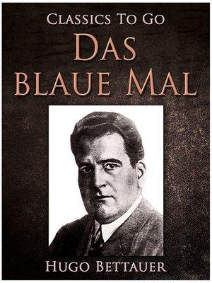 cover image of Das blaue Mal
