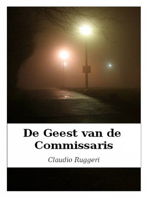 cover image of De Geest van de Commissaris