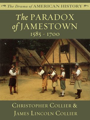 cover image of The Paradox of Jamestown: 1585 - 1700