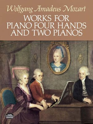 cover image of Works for Piano Four Hands and Two Pianos
