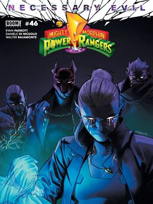 cover image of Mighty Morphin Power Rangers, Issue 46