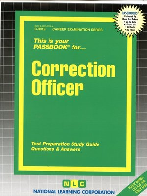 cover image of Correction Officer