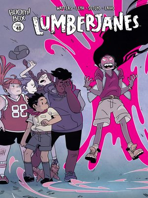 cover image of Lumberjanes, Issue 48