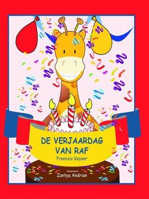 cover image of De verjaardag van Raf