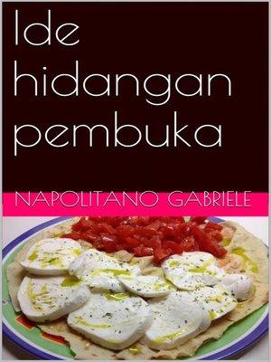 cover image of Ide hidangan pembuka