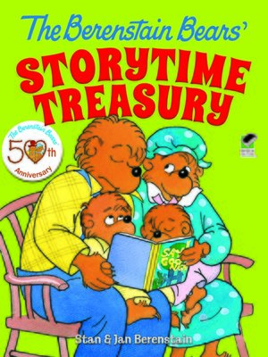 cover image of The Berenstain Bears' Storytime Treasury