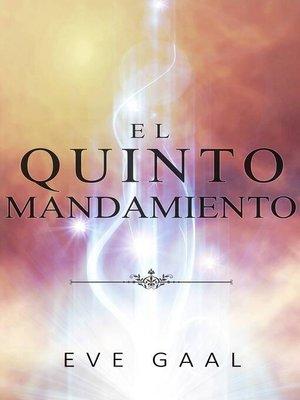 cover image of El quinto mandamiento