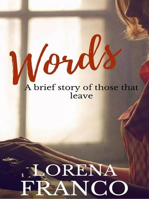 "cover image of Words ""A Brief Story of Those That Leave"""