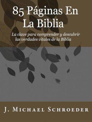 cover image of 85 Páginas En La Biblia