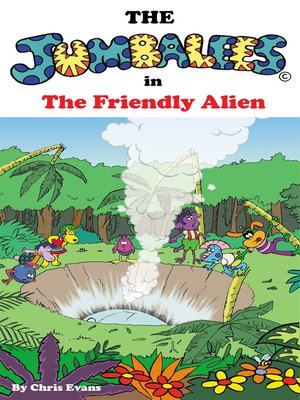 cover image of The Jumbalees in the Friendly Alien