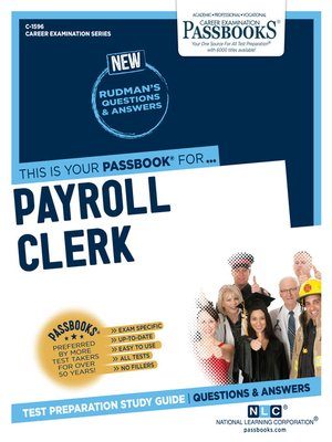 cover image of Payroll Clerk