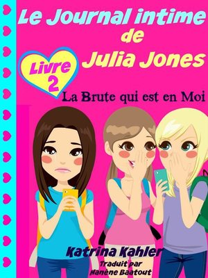 cover image of Le Journal intime de Julia Jones