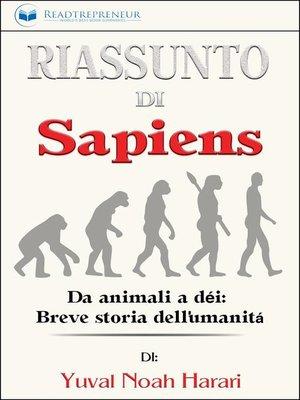 cover image of Riassunto di Sapiens