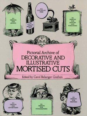 cover image of Pictorial Archive of Decorative and Illustrative Mortised Cuts