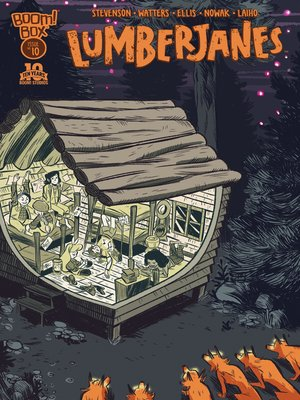 cover image of Lumberjanes (2014), Issue 10