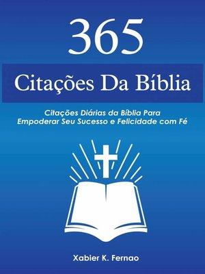 cover image of 365 Citações da Bíblia