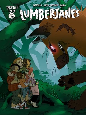 cover image of Lumberjanes, Issue 40