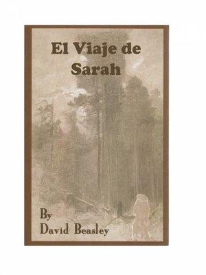cover image of El Viaje de Sarah
