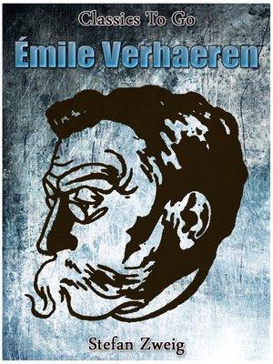 cover image of Émile Verhaeren