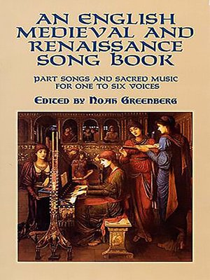 cover image of An English Medieval and Renaissance Song Book