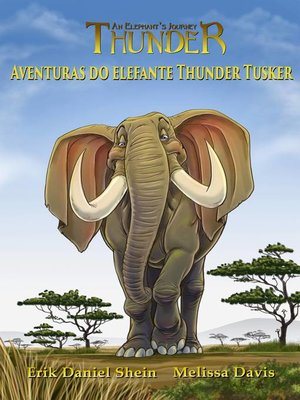 cover image of Aventuras do elefante Thunder Tusker