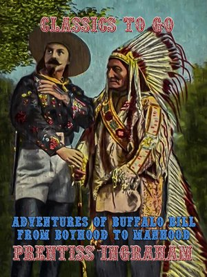 cover image of Adventures of Buffalo Bill From Boyhood to Manhood