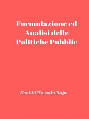 cover image of Análise e Formulação de Políticas Públicas