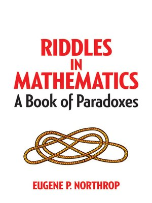 cover image of Riddles in Mathematics