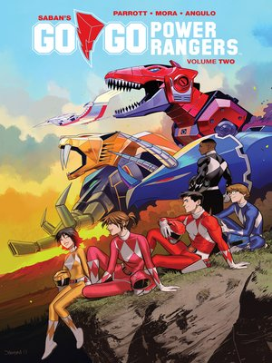 cover image of Saban's Go Go Power Rangers, Volume 2