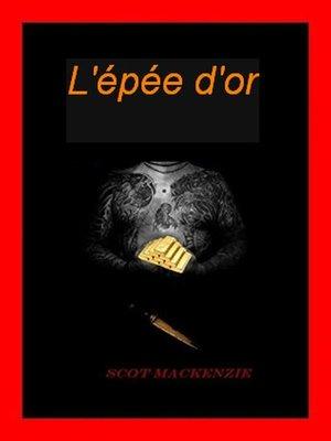 cover image of l'épée d'or