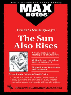 cover image of The Sun Also Rises