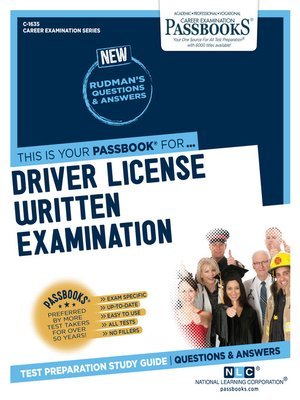 cover image of Driver License Written Examination