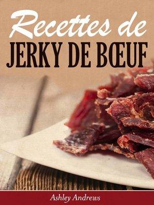 cover image of Recettes de jerky de bœuf