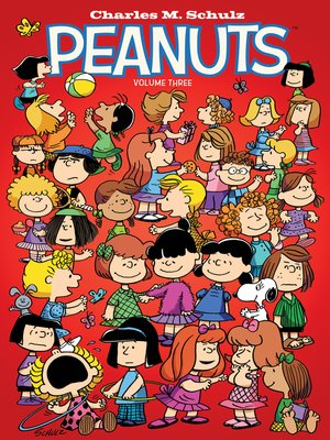 cover image of Peanuts (2012), Volume 3