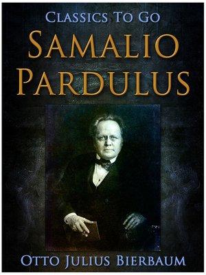 cover image of Samalio Pardulus