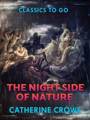 cover image of The Night-Side of Nature