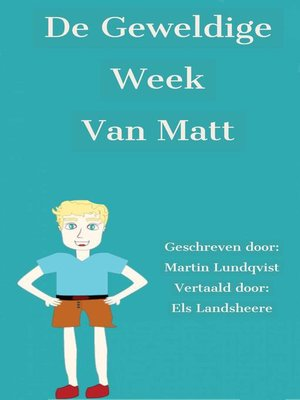 cover image of De geweldige week van Matt