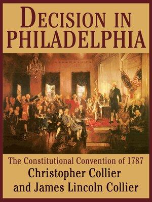 cover image of Decision in Philadelphia