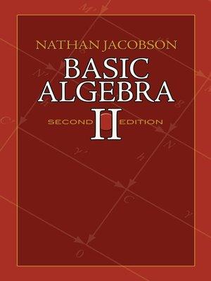 Dover books on mathematicsseries overdrive rakuten overdrive basic algebra ii fandeluxe Images