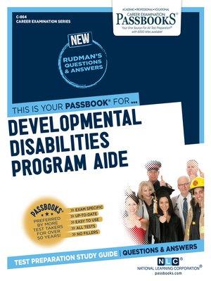 cover image of Developmental Disabilities Program Aide
