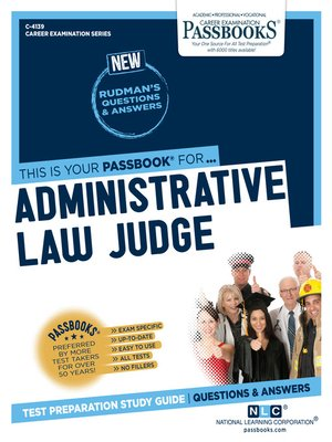 cover image of Administrative Law Judge