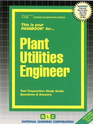 cover image of Plant Utilities Engineer