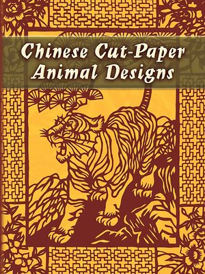 cover image of Chinese Cut-Paper Animal Designs