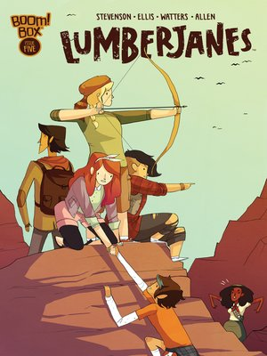 cover image of Lumberjanes (2014), Issue 5