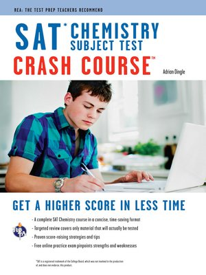 cover image of SAT Subject Test: Chemistry Crash Course