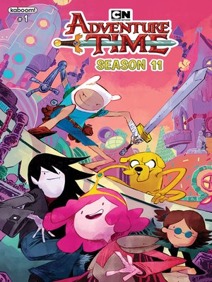 cover image of Adventure Time Season 11, Issue 1
