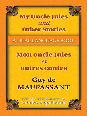 cover image of My Uncle Jules and Other Stories (Mon oncle Jules et autres contes)